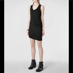 ALL SAINTS Black Tulli Vi Dress